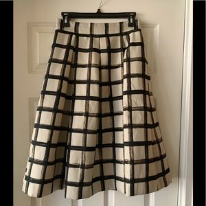 Aline Long Printed Skirt
